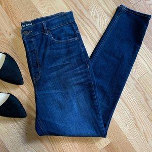 Express Super High Rise Legging Jeans D3